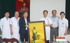 Bệnh viện Đa khoa Nghi Xuân, Hương Khê (Hà Tĩnh) tham quan, học tập và trao đổi kinh nghiệm TTYT Nghĩa Đàn