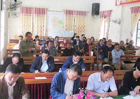 Đại biểu HĐND tỉnh tiếp xúc cử tri Nghĩa Đàn