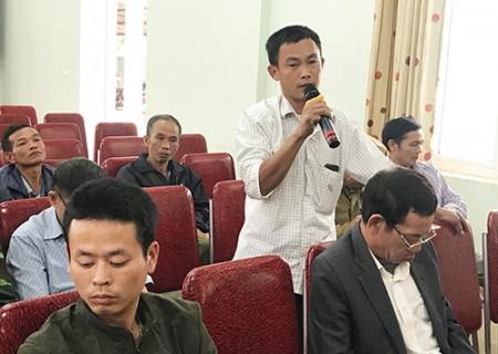 Đại biểu HĐND tỉnh tiếp xúc cử tri tại xã Nghĩa Long
