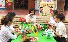 Cô giáo Nguyễn Thị Phương Huyền học và làm theo lời Bác