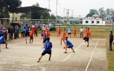 Khai mạc giải bóng chuyền CCB cấp huyện