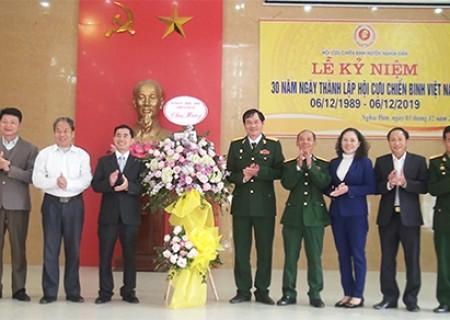 Lễ kỷ niệm 30 năm ngày thành lập hội CCB Việt Nam