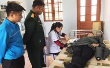600 thanh niên tham gia khám tuyển nghĩa vụ quân sự