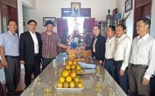 MTTQ tỉnh chúc mừng tại các giáo xứ Nhân dịp mùa Giáng sinh