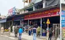 Ra quân giải tỏa vi phạm hành lang an toàn giao thông trước tết Nguyên đán