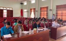 Nghĩa Khánh tổ chức hội nghị cán bộ, công chức, người lao động  năm 2020