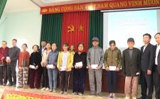 Tập đoàn TH tặng quà tại xã Nghĩa Lâm