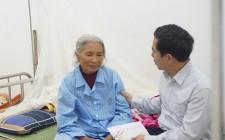 Đồng chí Phan Tiến Hải thăm, chúc tết, động viên các y, bác sĩ và bệnh nhân đang điều trị tại TTYT Nghĩa Đàn