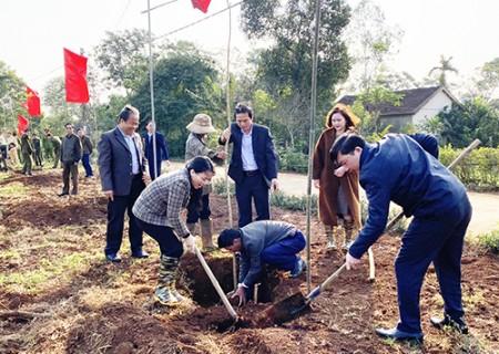 """Phát động """"Tết trồng cây đời đời nhớ ơn Bác Hồ"""" nhân dịp Xuân Canh Tý 2020"""