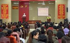 Tập huấn công tác truyền thông phòng, chống Covid-19 cho cán bộ giáo viên