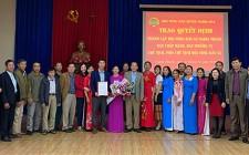 Công bố quyết định thành lập Hội Nông dân xã Nghĩa Thành
