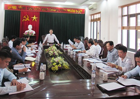 HĐND huyện Nghĩa Đàn thẩm tra các tờ trình