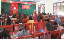 Khai giảng lớp trung cấp lý luận Chính trị - Hành chính hệ không tập trung K15