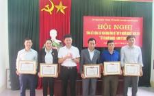 MTTQ huyện Nghĩa Đàn tổng kết quỹ vì người nghèo năm 2019