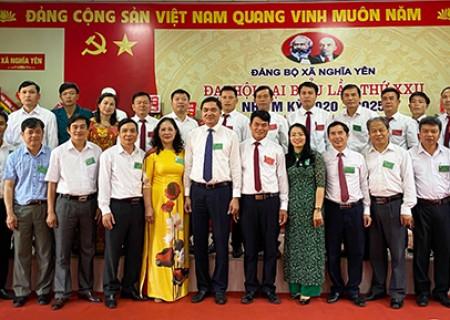 Đại hội điểm Đảng bộ xã  Nghĩa Yên lần thứ XXII, nhiệm kỳ 2020 – 2025