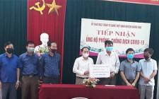 Hội Doanh nghiệp vừa và nhỏ huyện Nghĩa Đàn ủng hộ 151 triệu đồng chung tay phòng, chống dịch Covid – 19