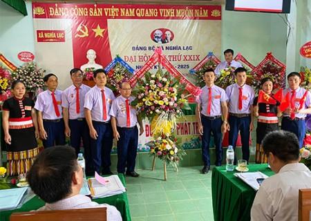 Đại hội Đại biểu Đảng bộ xã Nghĩa Lạc lần thứ XXIX, nhiệm kỳ  2020 - 2025