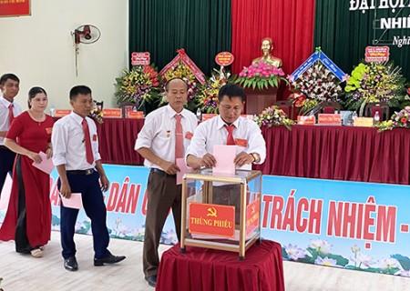 Đại hội Đại biểu Đảng bộ xã Nghĩa Thịnh lần thứ XXIII, nhiệm kỳ 2020-2025