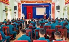 Nghĩa Thành khai mạc huấn luyện dân quân năm 2020
