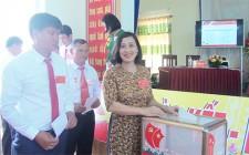 Đại hội đại biểu Đảng bộ xã Nghĩa Thành lần thứ II nhiệm kỳ 2020 - 2025