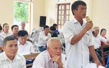 Đại biểu HĐND tỉnh tiếp xúc cử tri trước kỳ họp thứ 15 tại xã Nghĩa Đàn