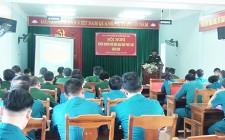 BCH Quân sự huyện tuyên truyền phổ biến giáo dục pháp luật năm 2020