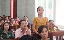 Tập huấn công tác bình đẳng giới và công tác trẻ em