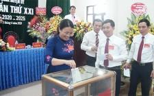 Đại hội Đảng bộ Cơ quan Huyện ủy Nghĩa Đàn lần thứ XXI nhiệm kỳ 2020 - 2025