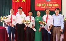 Đại hội Chi bộ Trung tâm Dịch vụ Nông nghiệp huyện lần thứ I