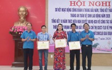 LĐLĐ huyện sơ kết hoạt động công đoàn 6 tháng đầu năm