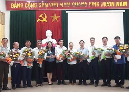 Huyện ủy Nghĩa Đàn gặp mặt các đồng chí bí thư, phó bí thư ( Ủy viên ban thường vụ ) trực Đảng nghỉ công tác