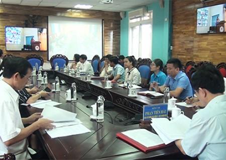 Huyện Nghĩa Đàn tham gia hội nghị trực tuyến sơ kết công tác tuyên giáo 6 tháng đầu năm