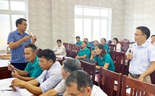 Tập huấn nghiệp vụ nhận ủy thác từ ngân hàng chính sách xã hội năm 2020 tại Nghĩa Đàn