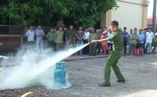 Huấn luyện nghiệp vụ phòng cháy chữa cháy năm 2020
