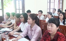 Khai giảng lớp bồi dưỡng lý luận chính trị cho đảng viên mới, lớp thứ nhất, năm 2020