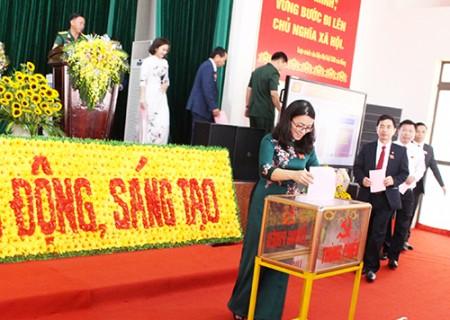Phiên khai mạc chính thức Đại hội đại biểu Đảng bộ huyện Nghĩa Đàn lần thứ XXIX, nhiệm kỳ 2020 - 2025