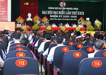 Danh sách Ủy ban Kiểm tra Huyện ủy Nghĩa Đàn khóa XXIX