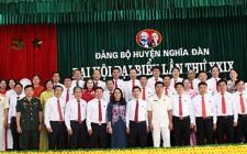 Bế mạc Đại hội đại biểu Đảng bộ huyện Nghĩa Đàn lần thứ XXIX, nhiệm kỳ 2020 – 2025