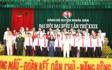 Thông báo kết quả Đại hội đại biểu Đảng bộ huyện lần thứ XXIX, nhiệm kỳ 2020 - 2025