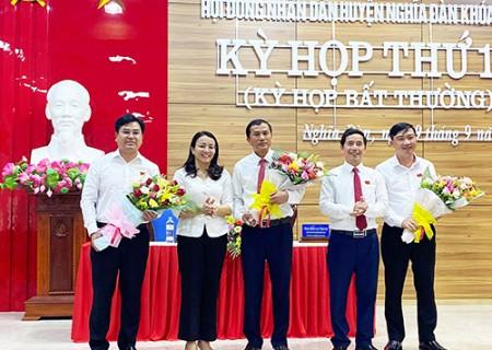 Ông Ngô Văn Thành được bầu giữ chức phó chủ tịch HĐND huyện Nghĩa Đàn khóa 19 nhiệm kỳ 2016-2021