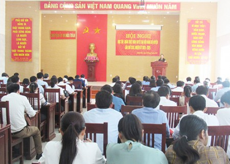 Nghĩa Đàn quán triệt Nghị quyết Đại hội Đảng bộ huyện lần XXIX