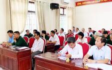 Hội CCB huyện Nghĩa Đàn sơ kết giữa nhiệm kỳ thực hiện Nghị quyết Đại hội CCB huyện lần thứ VI, nhiệm kỳ 2017 - 2022
