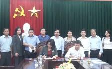 Huyện Nghĩa Đàn ký kết quy chế phối hợp với Đài PT - TH tỉnh Nghệ An