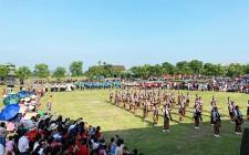 Nghĩa Hội sôi nổi giao lưu dân vũ chào mừng 90 năm thành lập Hội phụ nữ và Hội nông dân Việt Nam
