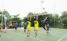 Hơn 120 vận động viên tham gia giải bóng chuyền nam thanh niên huyện Nghĩa Đàn năm 2020