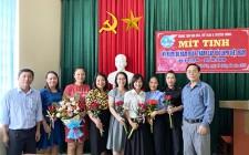 Trung tâm Văn hóa Thể thao và Truyền thông huyện kỷ niệm 90 Ngày phụ nữ Việt Nam