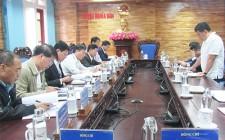 UBND huyện Nghĩa Đàn làm việc về dự án chăn nuôi bò thịt từ nguồn các  trang trại TH