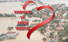 Kết quả ủng hộ Nhân dân các tỉnh miền Trung khắc phục hậu quả thiên tai