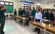 Tập huấn Luật Dân quân tự vệ, Lực lượng dự bị động viên