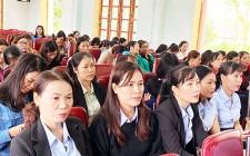 Truyền thông về chính sách dân số và kiến thức về chăm sóc sức khỏe sinh sản tại Nghĩa Đàn
